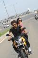 Baskaran, Nikesha Patel in Thalaivan Movie Stills