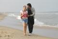 Nikesha Patel, Baskaran in Thalaivan Tamil Movie Stills