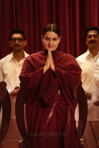 Actress Kangana Ranaut in Thalaivi Movie Images HD