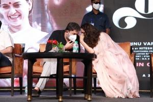 Arvind Swami, Kangana Ranaut @ Thalaivi Trailer Launch Stills