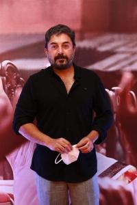 Actor Arvind Swami @ Thalaivi Trailer Launch Stills