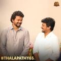 Vijay, Nelson @ Thalapathy 65 Movie Poojai Stills