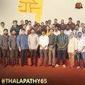 Thalapathy Vijay 65 Movie Poojai Stills