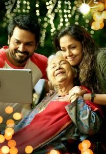 Karthi, Sowcar Janaki, Jyothika in Thambi Movie Images HD