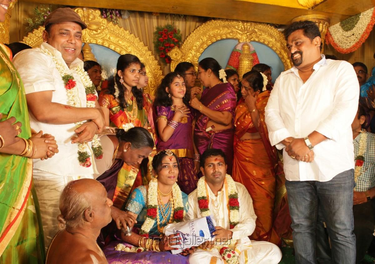 Thambi Ramaiah Daughter Marriage Photos