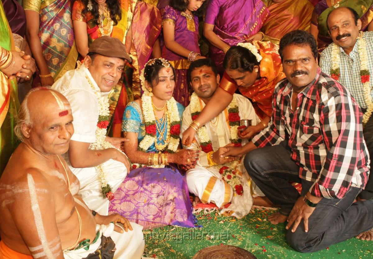 Thangar Bachan at Thambi Ramaiah Daughter Marriage Photos