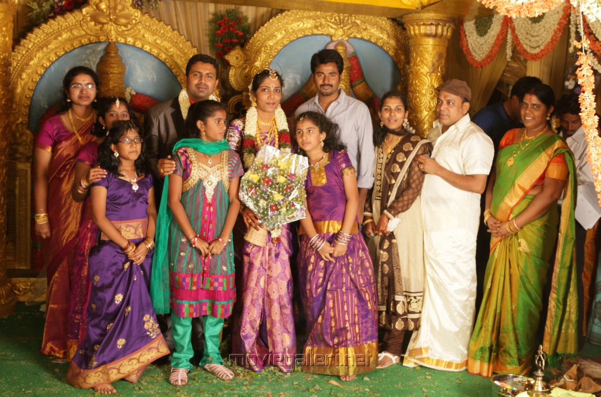Sivakarthikeyan at Thambi Ramaiah Daughter Wedding Photos