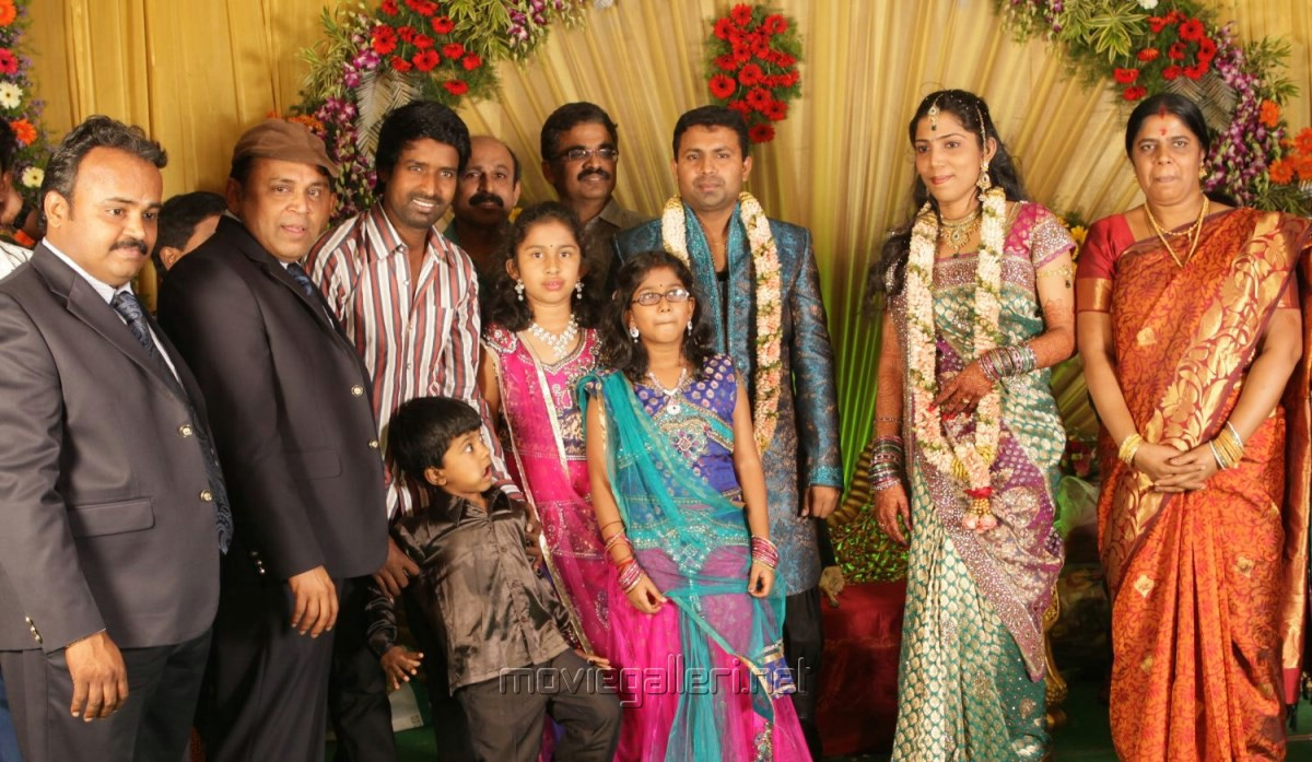 Picture 481082 Soori At Thambi Ramaiah Daughter Wedding