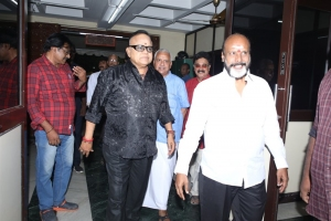 Radha Ravi, G Siva @ Thamilarasan Movie Audio Launch Stills