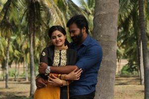 Manochitra, Abhishek Vinod in Thandagan Movie Stills HD