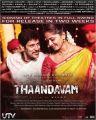 Vikram, Anushka Shetty in Thandavam Movie Posters