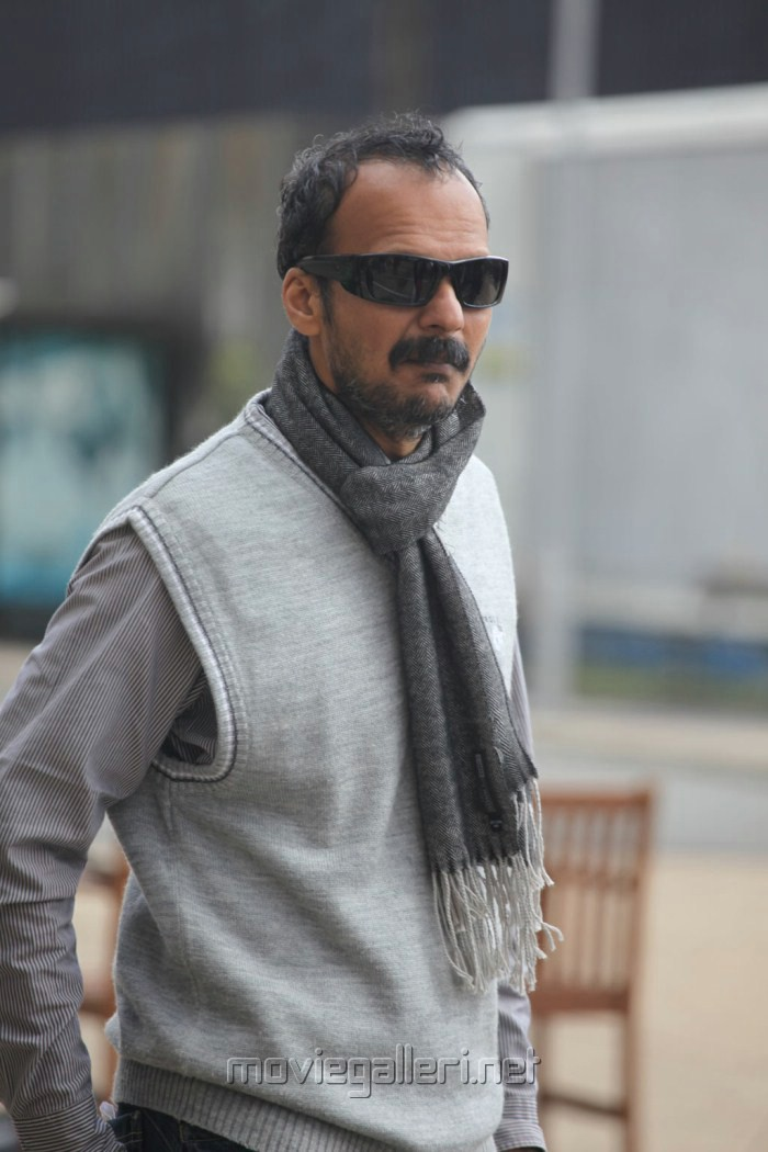 Cinematographer Nirav Shah at Thandavam Shooting Spot Stills