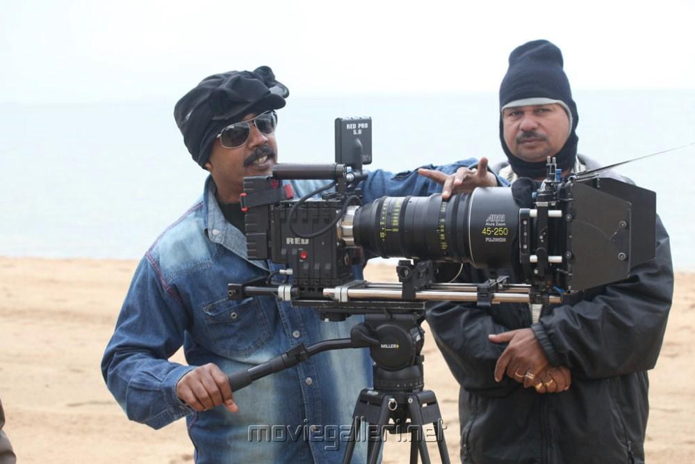 Thandavam Movie On Location Pics