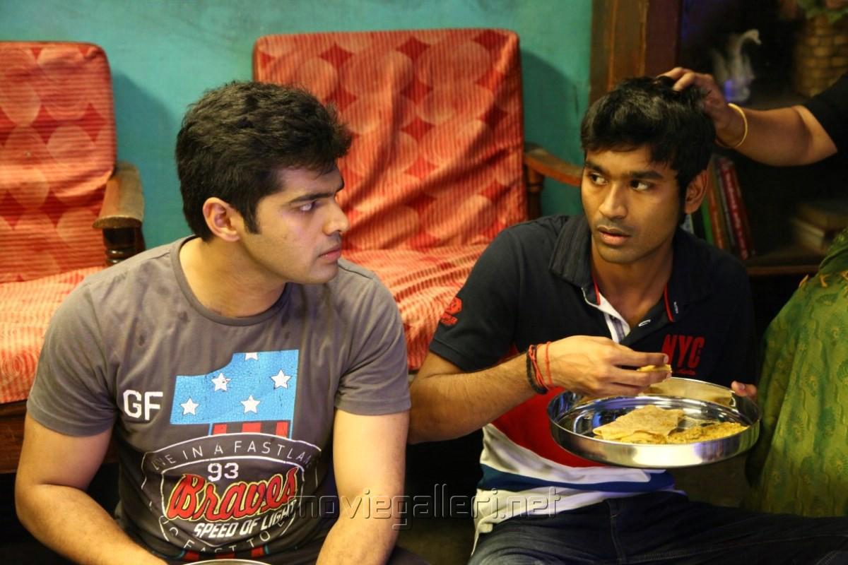 Aadith, Dhanush in Thanga Magan Movie New Stills