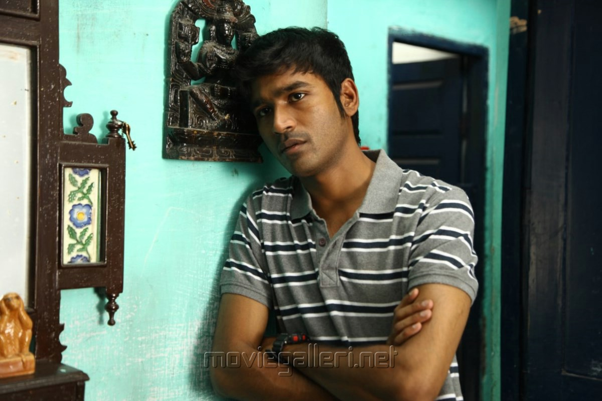 Actor Dhanush in Thanga Magan Movie New Stills