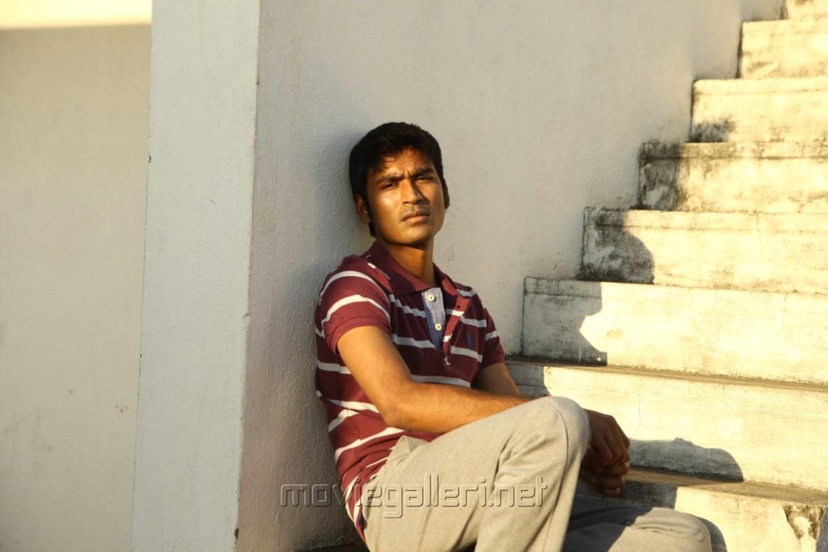 Actor Dhanush in Thanga Magan Movie New Stills