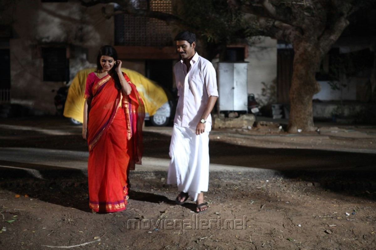 Samantha, Dhanush in Thanga Magan Movie New Stills