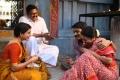 Samantha, Azhagam Perumal, Dhanush, Radhika in Thanga Magan Movie Stills