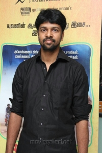 Madhan Karky at Thanga Meengal Movie Audio Launch Stills