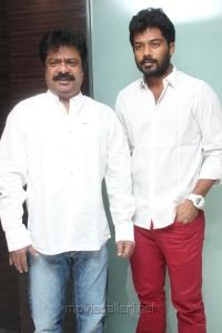 Prithvi, Pandiarajan at Thanga Meengal Movie Audio Launch Stills
