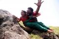 Ram, Baby Sadhana in Thanga Meengal Movie Stills