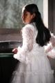 Baby Sadhana as Chellamma in Thanga Meengal Movie Stills