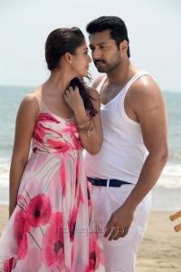 Nayanthara, Jayam Ravi in Thani Oruvan Movie New Photos