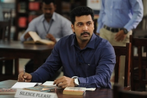 Actor Jayam Ravi in Thani Oruvan Movie New Photos