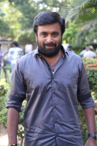 Sasikumar @ Tharai Thappattai Movie Team Interview Stills