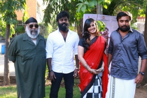 GM Kumar, RK Suresh, Varalaxmi, Sasikumar @ Tharai Thappattai Movie Team Interview Stills
