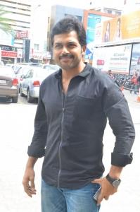 Karthik Sivakumar @ Tharkappu Movie Audio Launch Photos
