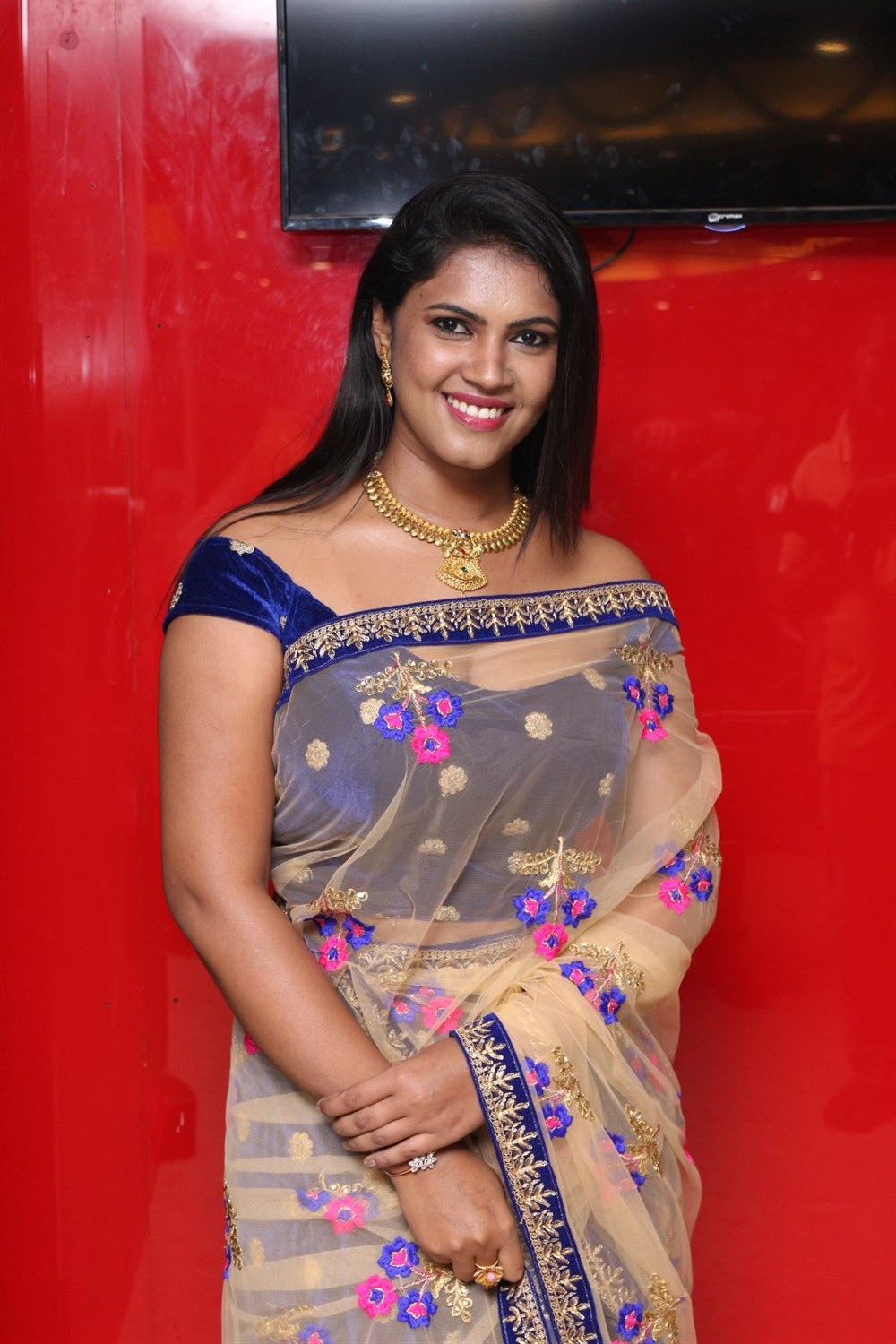 Actress Pooja Sri @ Thavam Audio Launch Stills