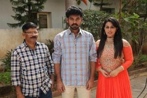 Majith, Vimal, Diana Champika @ The Broker Movie Pooja Stills