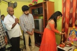 Vimal, Diana Champika @ The Broker Movie Pooja Stills