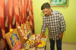 Director Abdul Majith @ The Broker Movie Pooja Stills