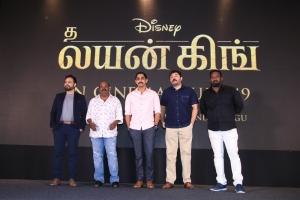 The Lion King Tamil Press Meet Stills