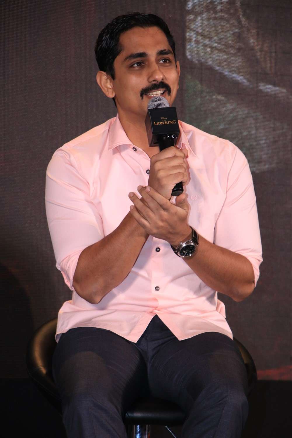 Siddharth @ The Lion King Tamil Press Meet Stills