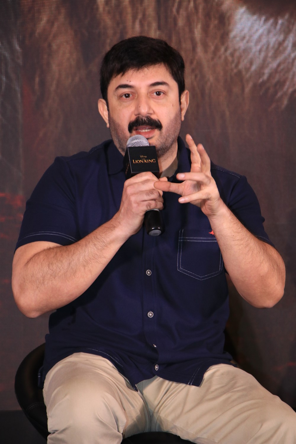 Arvind Swami @ The Lion King Tamil Press Meet Stills
