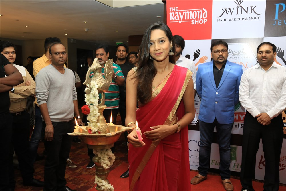 Actress Sanjana Singh @ The Luxury Affair Wedding Expo Launch Photos