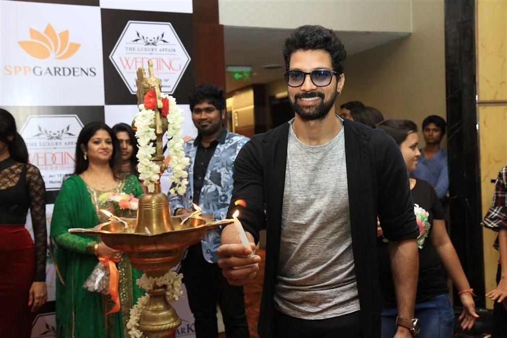 Actor Santosh Prathap @ The Luxury Affair Wedding Expo Launch Photos