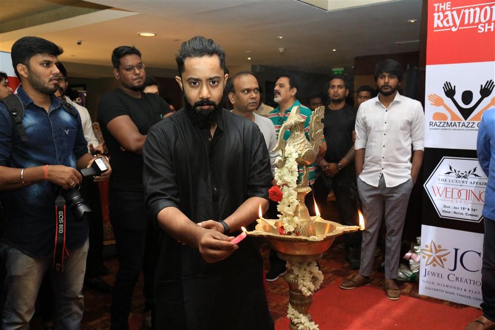 Abishek @ The Luxury Affair Wedding Expo Launch Photos