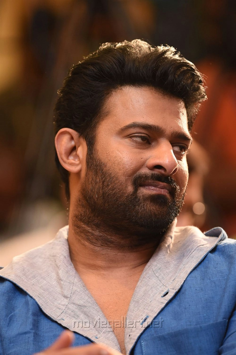 Actor Prabhas @ The World of Baahubali Press Meet Photos