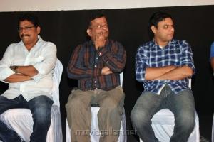 KS Ravikumar, KV Anand, C.Sathya at Theeya Velai Seiyyanum Kumaru Audio Launch Photos