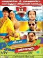 Siddharth, Hansika in Theeya Velai Seiyyanum Kumaru Movie Latest Posters