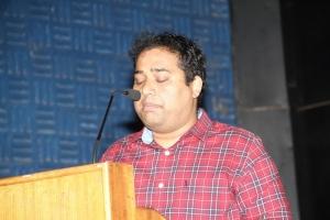 Producer CV Kumar @ Thegidi Movie Press Meet Stills