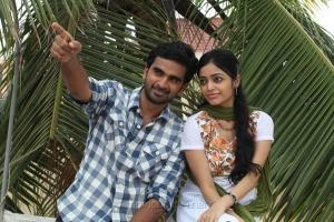 Ashok Selvan, Janani Iyer in Thegidi Telugu Movie Stills