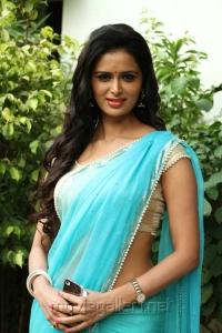 Actress Meenakshi Dixit @ Thenaliraman Movie Audio Launch Stills