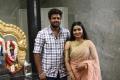 Angadi Theru Mahesh, Anisha @ Thenampettai Mahesh Movie Pooja Stills