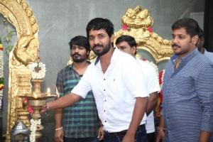 Director M Sithick @ Thenampettai Mahesh Movie Pooja Stills