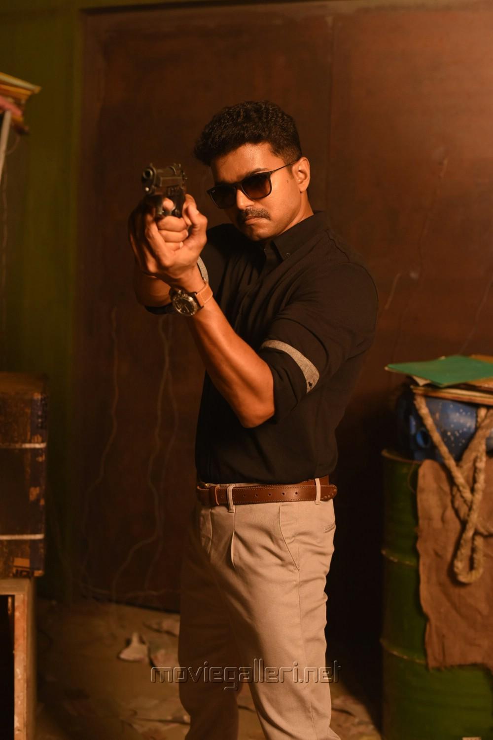 Hd wallpaper vijay - Actor Vijay In Theri Movie Stills